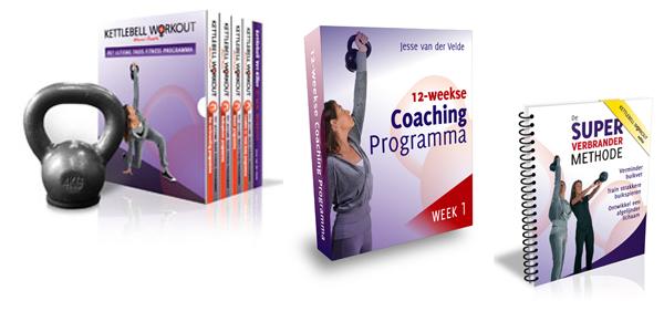 Kettlebell workout programma aanbieding