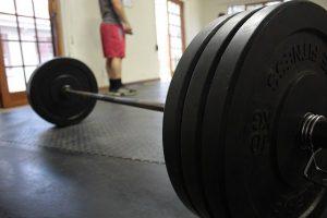 barbell met gewicht