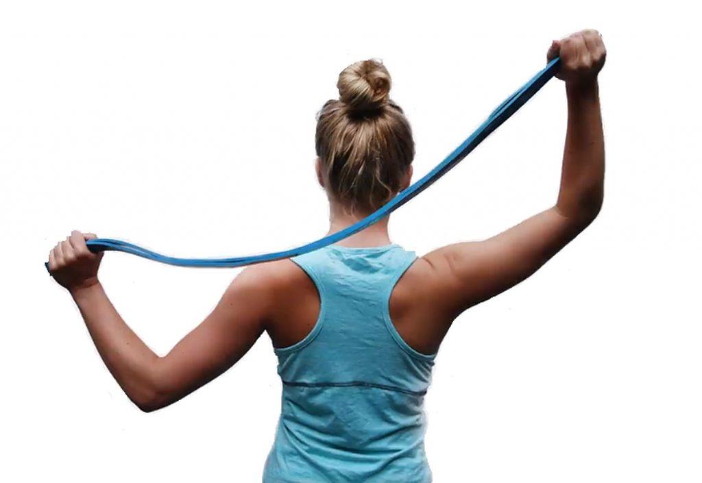 trainen met weerstandsbanden