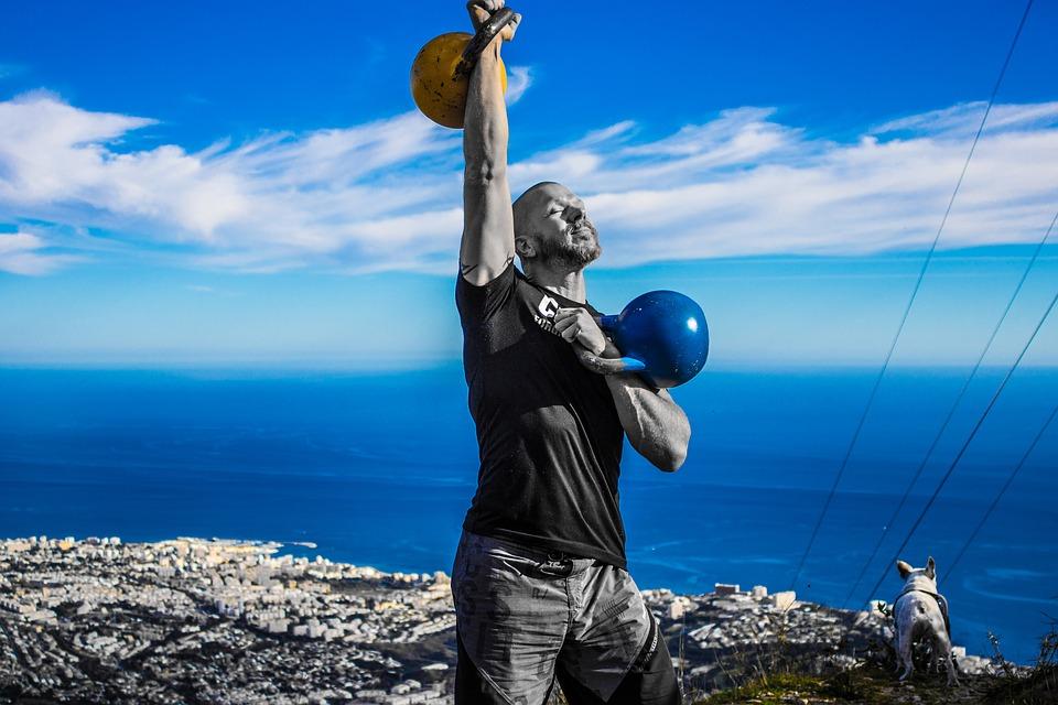 Kettlebell workout voor mannen