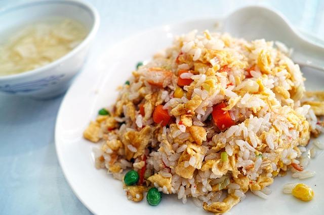 sportmaaltijden rijst