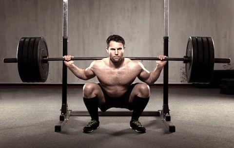 squat: krachtige benen